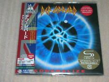 DEF LEPPARD adrenalize JAPAN mini lp SHM CD 12 tracks SEALED BRAND NEW
