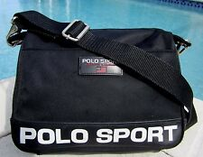 POLO SPORT RALPH LAUREN VINTAGE CROSSBODY MESSENGER BAG PURSE TOTE