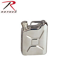 643 Rothco Stainless Steel Jerry Can Flask