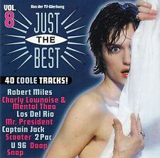 JUST THE BEST VOL. 8 / 2 CD-SET - TOP-ZUSTAND