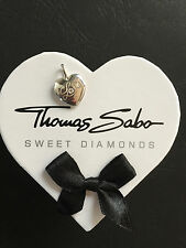 "New Genuine Thomas Sabo Sterling Silver ""Love"" Heart Shape Pendant RRP $189"