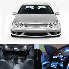 LED White Lights Interior Package Kit For Mercedes C-Class W203 2001-2006 (28pc)