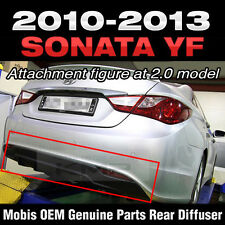 Rear Bumper Guard Skid Plate Diffuser For 2011 2012 2013 2014 HYUNDAI YF SONATA