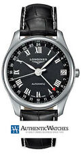 L2.718.4.50.7 | NEW AUTHENTIC LONGINES MASTER COLLECTION MENS GMT WATCH  MODEL