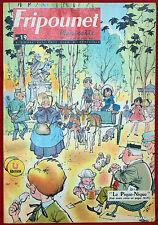 Fripounet Marisette Coeurs Vaillants  N° 19  du  9 MAI 1963 bon etat