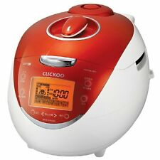 CUCKOO IH Pressure Rice Cooker CRP-HV0667F 6-Cups Orange 110 V