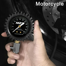 MZS High Quality Tire Pressure Gauge For Cars Motorcycles With Hose -60 PSI