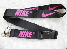 Nike Lanyard Strap Badge ID Detachable Keychain Black Pink  BEST RATED*❤❤❤