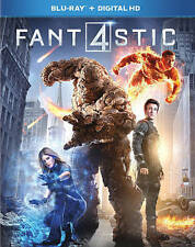FANTASTIC 4 BLU RAY (2015)  MINT DISC  W/SLIPCOVER