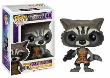 Funko Pop Marvel Guardianes De La Galaxia Rocket Raccoon Vinilo Bobble-head Figura