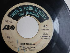 OTIS REDDING Fa fa fa fa / treat her right AT 90194 PROMO ITALIE
