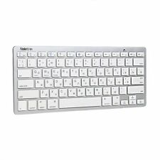 Slim Russian Language Wireless Bluetooth Keyboard For Apple ios & Android Tablet