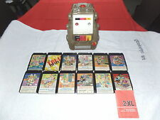 MEGO 2-XL TALKING ROBOT 8-TRACK PLAYER 1978 & 12 8-TRACKS Monsters Myths Legends