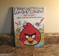 Angry Birds Coloring and Activity Book Red Alert  NEW