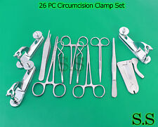 25 PC Circumcision Clamp Set Instruments Surgical Urology Amazing unique Set