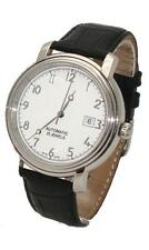 Montre automatique Homme Jaquet-Girard cuir date ETA 2824-2 swiss made 131.173