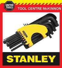 STANLEY 12pce LONG ARM BALL POINT HEX / ALLEN KEY SET – A/F