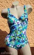 Floraler Badeanzug mit Bügel Gr. 46E von NATURANA NEU! Sommer, Strand und Sonne!