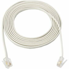 10m 30ft RJ11 6P4C Cable new Telephone Phone ADSL Modem FAX Line Cord 4 Pin TEL