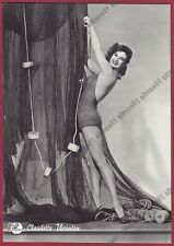 CLAUDETTE THORNTON 01b ATTRICE ACTRESS CINEMA MOVIE PEOPLE Cartolina FOTOGRAFICA