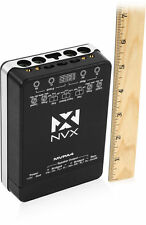 NEW! NVX MVPA4 Micro-V 400W RMS 4-Channel Class D Compact Car Amplifier
