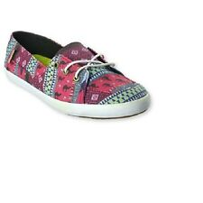 Vans Off the Wall Womens Surf Palisades Vulc Leila Placid Blue Shoes 8 Flats