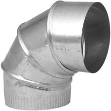 """Imperial GV0290-C/5-28-302 Stove Pipe Adjustable  Elbow, 5"""""""