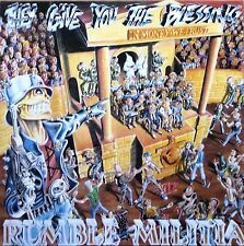 LP-RUMBLE MILITIA-THEY GIVE YOU THE BLESSING-GERMANIA 1990-MINT