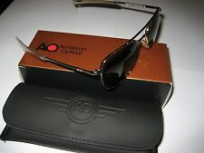57mm Gold Frames American Optical AO Pilot Sunglasses
