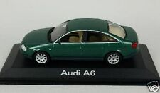 AUDI A6 1997 BERLINE VERTE MINICHAMPS 1/43 SALOON SEDAN