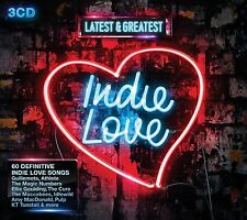 INDIE LOVE-LATEST & GREATEST 3 CD Nazareth, Art Of Noise, Madness NEU