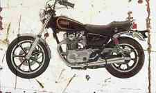 Yamaha XS650SE Special 1979 Aged Vintage SIGN A4 Retro