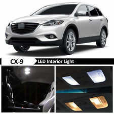 13x White Interior LED Light Package Kit for 2007-2016 Mazda CX-9 CX9 + TOOL
