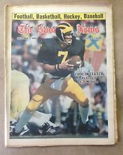 The Sporting News: Rick Leach COOL IN CLUTCH U. of Michigan October 2, 1976