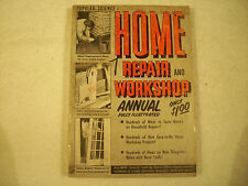 Popular Science Home Repair and Workshop Annual Illustrated 1951 GC 121-4A