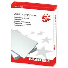 5 Star Value (A3) Copier Paper Ream-Wrapped (White) 500 Sheets