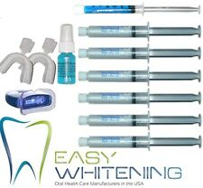 KIT BLANCHIMENT DES DENTS -LAMPE+ 6X10ML NON-PEROXYDE+REMINERALISANT+ACTIVATEUR