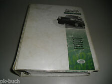 Werkstatthandbuch Land Rover Discovery I, Stand 1997