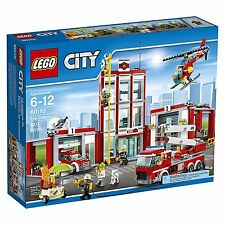 Lego City Fire Station #60110 Sealed Box NEW!