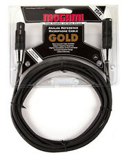 Mogami Gold Studio 15 FT XLR Quad Conductor Mic Cable Free Shipping!!
