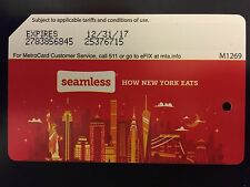 """""""Seamless"""" MTA Metrocard, Collectible Expired Metrocard With No Value"""
