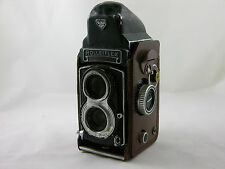 Rolleiflex 3.5T TLR 120 Film with Tessar 75mm 3.5 with prism