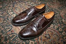 VINTAGE Florsheim Imperial Kenmoor Longwing Shell Cordovan Dress Shoes 8.5 D
