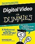 Digital Video for Dummies® by Keith Underdahl (2003, Paperback, Revised)