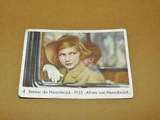 CHROMO 1935 CHOCOLAT COTE D'OR ENFANTS ROYAUX BELGIQUE 4 RETOUR DE NOODWIJCK