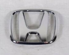 HONDA CHROME EMBLEM 01-03 CIVIC SEDAN FRONT / 02-04 ODYSSEY REAR OEM H BADGE