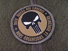 Patch Velcro - PUNISHER dieu jugera nos ennemis - Mercenaire US tap OD BV opex
