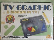 GIG NIKKO TV GRAPHIC .. E DISEGNI IN TV  VIDEOGIOCO FONDO DI MAGAZZINO