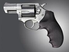 Hogue 81000 Ruger SP101 Grip w/Finger Grooves Matte Black Rubber