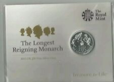 Royal Mint Longest Reigning Monarch £20 Coin RARE Ltd Edt 2015 COLLECT GIFT RARE